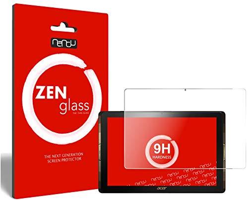 ZenGlass nandu I Flexible Glass Film compatible with Acer Iconia Tab 10 A3-A40 I Screen Protector 9H