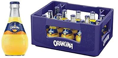 Orangina Limonade mit frischem Fruchtfleisch 15x0,25l Glasflasche