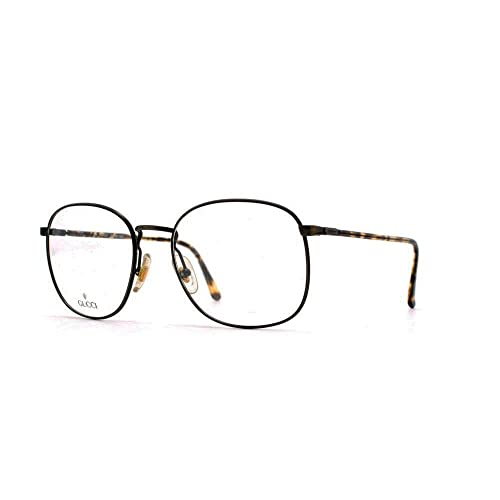 757cd281a6 Gucci 1314 66S Black Authentic Men - Women Vintage Eyeglasses Frame