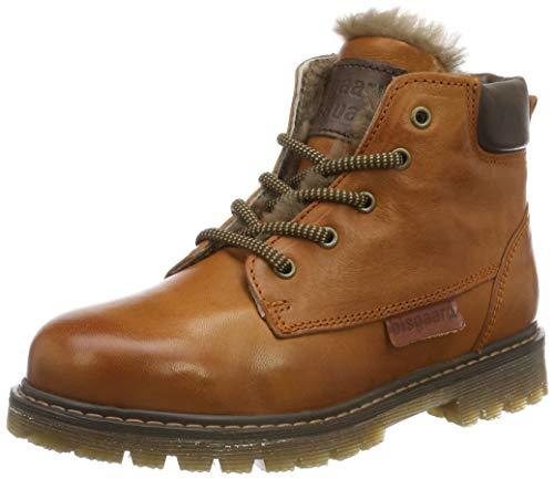 Bisgaard Jungen Hector Combat Boots, Braun (Cognac 501), 31 EU