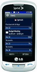 in budget affordable LG Rumor Reflex Phone, White (Sprint)