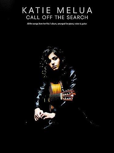 Katie Melua CALL OFF THE SEARCH, Songbook Piano/Vocal/Guitar mit Bleistift -- alle Songs des erfolgreichen Albums u.a. mit THE CLOSEST THING TO CRAZY arrangiert für Klavier,Gesang und Gitarre - Noten/sheet music
