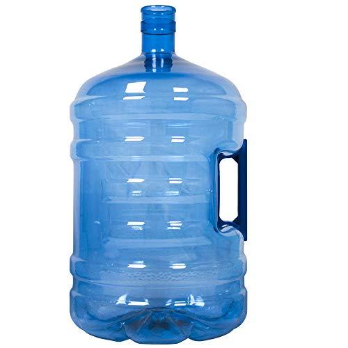 HODS HOME OFFICE DELIVERY SERVICES Garrafa para Agua. Botellón de 18.9 litros, para Agua. Compatible con Tapones de 5 galones. Apto para dispensadores de Agua. Color Azul. Libre de bisfenol-A