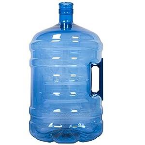 HODS HOME OFFICE DELIVERY SERVICES Botellón de 18.9 litros, para Agua. Compatible con Tapones de 5 galones. Apto para dispensadores de Agua. Color Azul. Libre de bisfenol-A