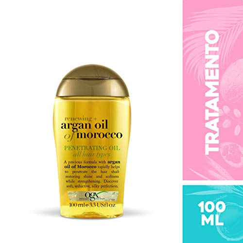 Óleo Argan Oil Penetrating, OGX, 100 ml