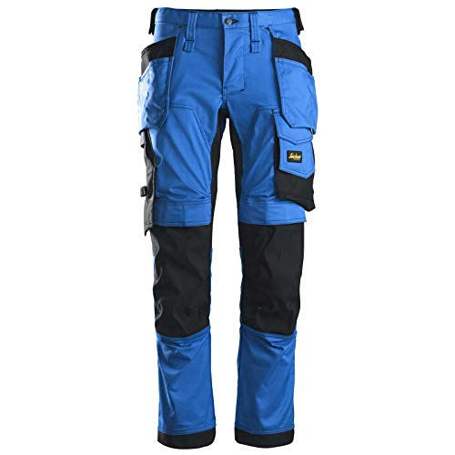 Snickers Workwear Unisex Pants, Blue, 58