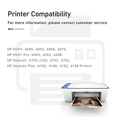 ESTON Remanufactured Replacements for HP 67XL Black