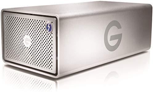 G-Technology G-RAID 12TB (Abnehmbar 2 x 6TB Ultrastar/Enterprise Klass HDD) RAID 0/1 Thunderbolt 3, USB-C, 500MB/s, 5 Jahre Garantie