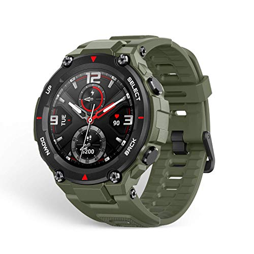 Amazfit T-Rex Smartwatch, Military Standard Certified, Tough Body,...
