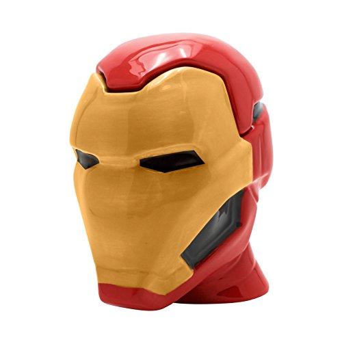 ABYstyle Abysse Corp_ABYMUG421 –Marvel–Tasse 3d–iron-man unisex-adult, abymug421