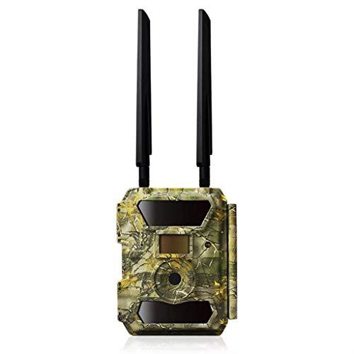 SXZHSM Infraroodcamera, 1080p, HD, met bewakingscamera, LCD-monitor, 4G, met nachtzicht, voor bewaking van de veiligheid buitenshuis en in de woonkamer, game trap, GPS