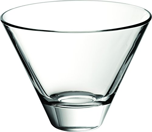 UTOPIA g62750 glazen eettafel volubilis individuele kom, 12,1 cm 12 cm, 11 oz, 31 cl (24 stuks)
