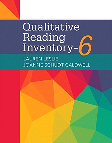 Qualitative Reading Inventory-6, with Enhanced Pearson eText -- Access Card Package (What's New in Literacy)
