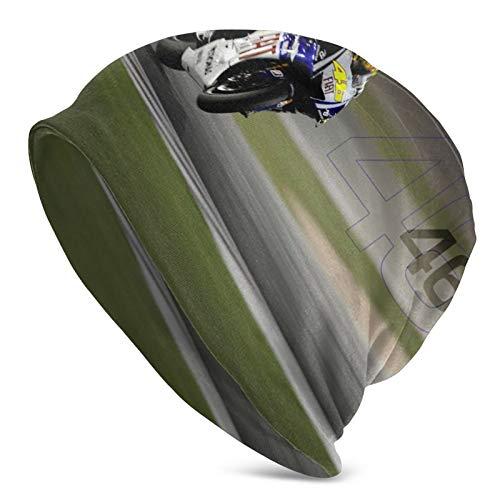 Valentino Rossi - Gorro de punto para correr en invierno, regalos únicos para parejas, regalos para hombres, mujeres, mamá, papá, ella, él/niños/niñas