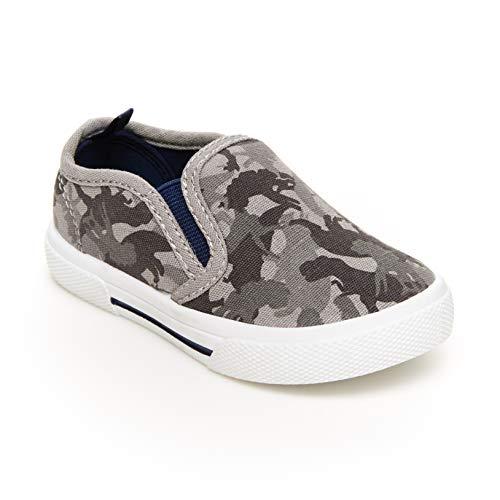 carter's Boy's Damon Sneaker, DK. GREY, 8 Toddler