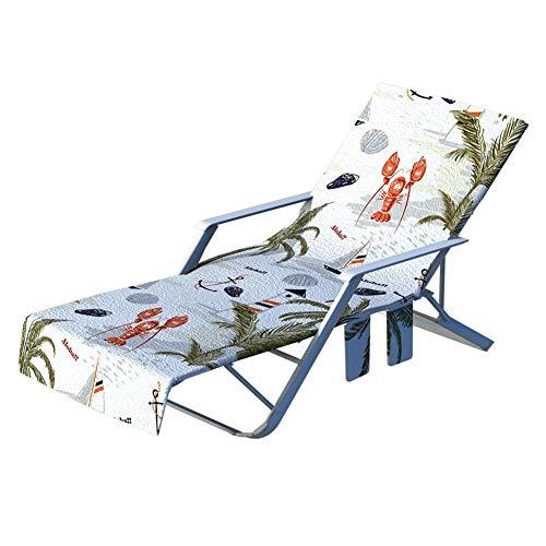 fancyU - Toalla de playa para tumbonas y sillas reclinables, B Style