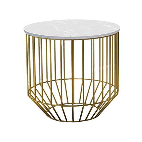 Table Family CSQ woonkamer salontafel, creatief goud, klein, ronde tafel, ijzeren kunst, marmer, sofa, bijzettafel, hoektafel, vrije tijd