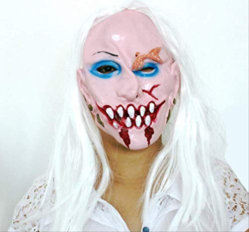 tytlmask Vampier Cosplay Kostuum Masker, Horror Clown Latex Maskers, Eng Grappig Masker Voor Party Halloween Fool'S Day Party