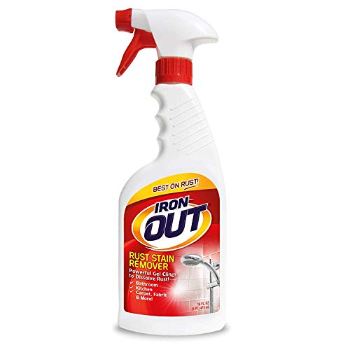 16oz Iron OUT Rust Stain Remover Spray Gel  $4.98 at Amazon
