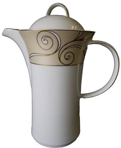 Könglich Tettau Jade Velluto Kaffeekanne für 6 Pers. 3735 Porzellan