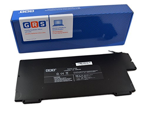 GRS accu voor Apple MacBook Air 13 inch, A1245, A1304, MacBook Air 13 inch A1237, 4400 mAh/43 Wh, 7,4 V