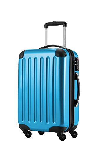 Trolley bagaglio a mano capitale 42litri + piccola tasca cultura blu Ciano s