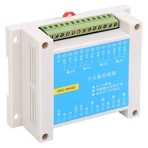 Módulo de relé, interruptor de relé de componente electrónico, exterior duradero para suministros industriales Arduino Raspberry Pi