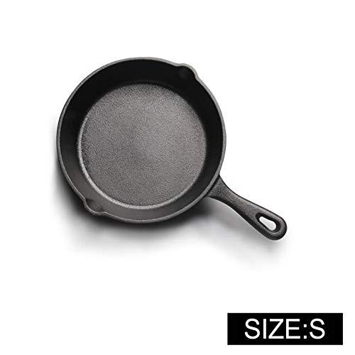 YITEJIA Goede hulp in de keuken Gietijzer Anti-stick 14-20CM Koekenpan voor Gas Inductie Cooker Ei Pannenkoek Pot Keuken & Eetgerei Kookgerei