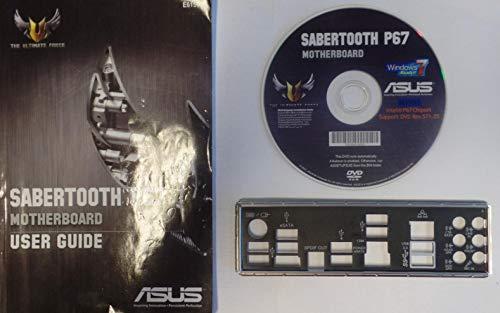 ASUS Sabertooth P67 - Handbuch - Blende - Treiber CD