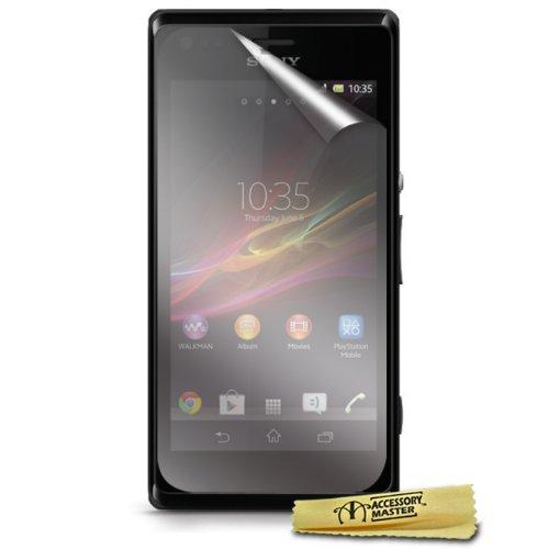 Accessory Master - Pellicola Proteggi Schermo per Sony Xperia M, Confezione da 6 Pezzi