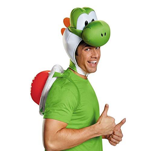 Generique - Kit Accessori Yoshi Nintendo® per Adulto Taglia Unica