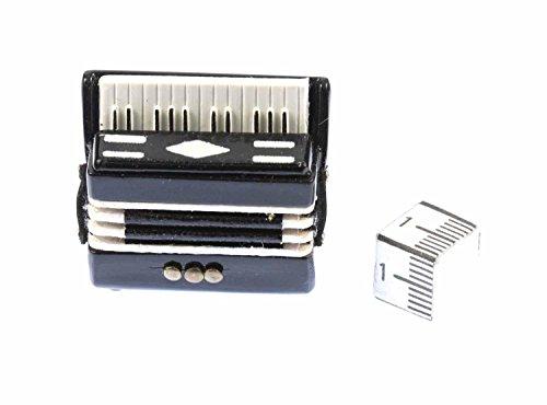 Miniblings Akkordeon Brosche Pin Anstecker Harmonika Schifferklavier Volksmusik