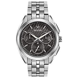Bulova Mens Chronograph Quartz Watch with Stainless Steel Strap 96A186 (B01LZRDMPG) | Amazon price tracker / tracking, Amazon price history charts, Amazon price watches, Amazon price drop alerts