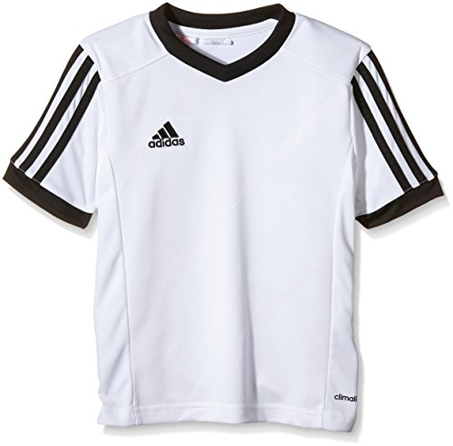 adidas Tabe 14 JSY - Camiseta para hombre, color blanco / negro, talla S
