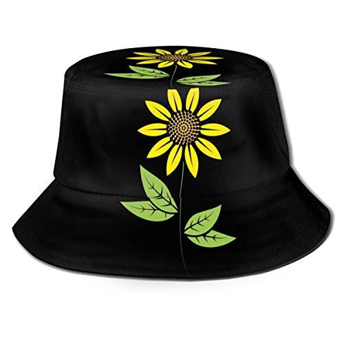 Not Applicable Eimer Hut Atmungsaktiv Unisex DREI Weiße Schneemann Print Reise Eimer Hut Sommer Fischer Cap Sun Hat