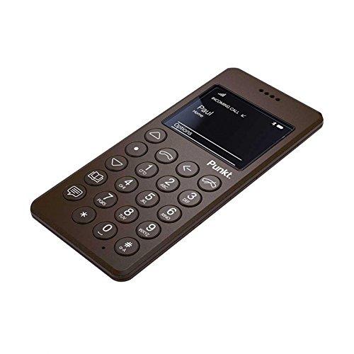 Punkt. MP01 EU Braun Mobiltelefon