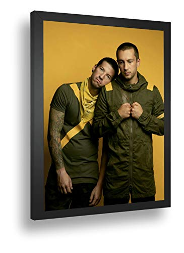 Quadro Decorativo Poster Twenty One Pilots