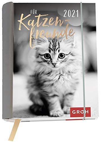 Für Katzenfreunde 2021: Wochenkalender mit 12 Postkarten (Terminplaner für die Handtasche)