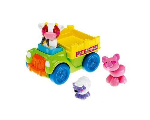 Mattel L6358 - FISHER PRICE Amazing Animals Traktor