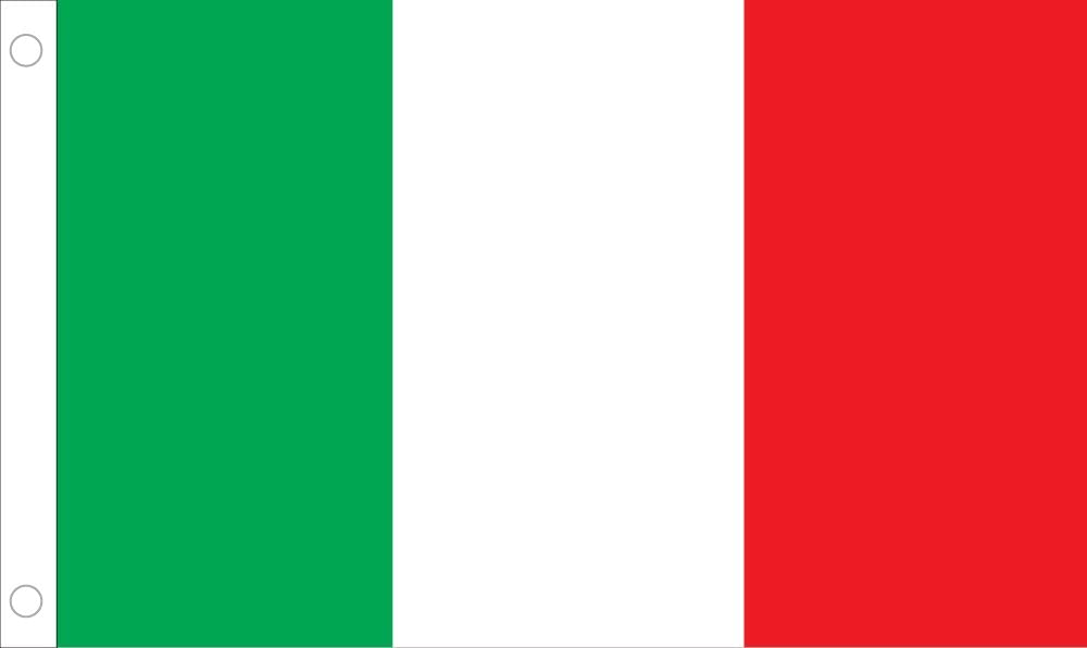 Allied Flag Selling rankings Outdoor Nylon Italy 8- 5-Feet Credence United by Nation