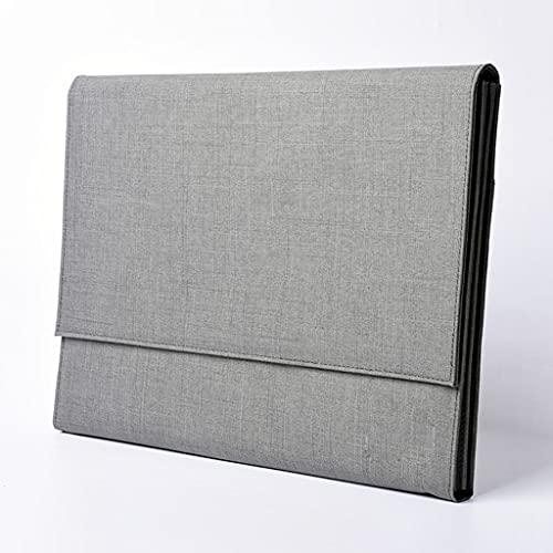 Carpetas, bolsos Bolsa de almacenamiento de archivos portátil, tejido impermeable y a prueba de aceite, diseño en capas de gran capacidad, maletín de hombres de negocios simple Carpetas, bolsos Malet