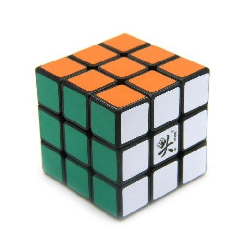 Targarian Cubo Magico Dayan 3x3x3 55mm con Sfondo Nero Speedcube Regalo per Bambini Dayan ZhanChi by
