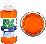 OURONS 1 litro di Olio Puro di Salmone per Cani...
