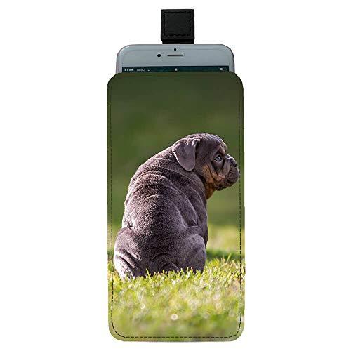 Giftoyo Bulldog Inglés Universal Bolsa de teléfono celular