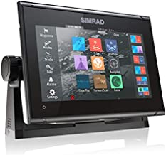 Simrad GO9 XSE - 9-inch Chartplotter with Active Imaging 3-in-1 Transducer, C-MAP Discover Chart Card