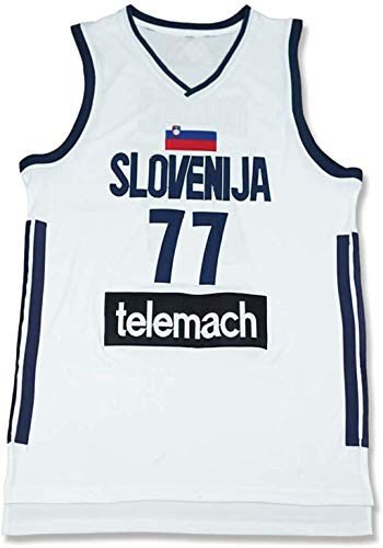 Luka Doncic 7 Real Madrid White Basketball Jersey Stitch Slo (50)