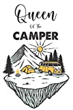 Queen Of The Camper: A Notebook For Exploring Nature, Camping Journal And Log For Checklists And Reminders