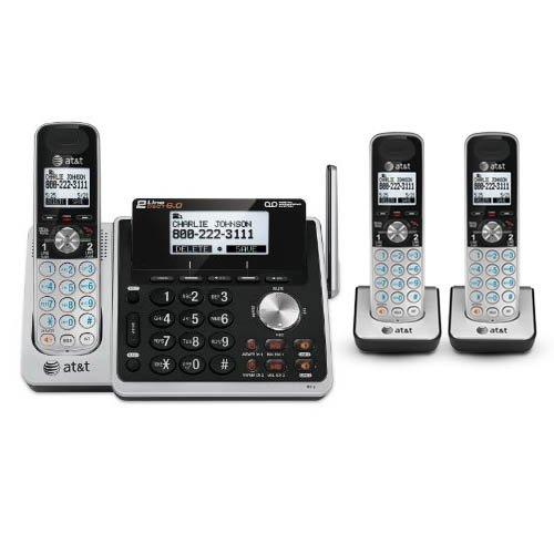 AT&T TL88102 + (2) TL88002 3 Handset Cordless Phone (2 Line) DECT 6.0