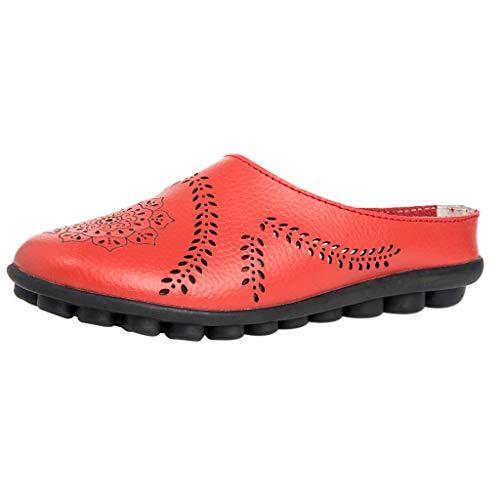 Sandales Femme,Honestyi Chaussures Creux Escarpins Fond Epais Tongs Respirant Sandales Fond Mou Chaussures de Outdoor Shoes Facile à Assortir Mixte Adulte