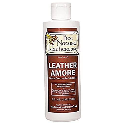 Bee Natural Leather Amore Conditioner, 8 oz, Neutral
